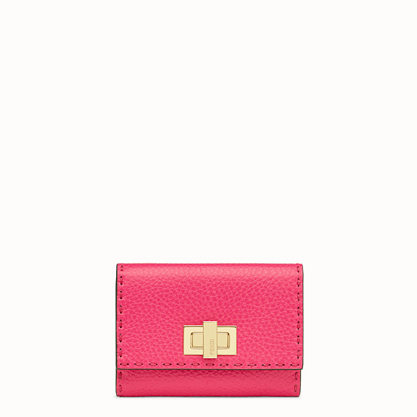 FENDI CONTINENTAL MEDIUM - Fendi Roma Amor leather wallet - view 1 small thumbnail