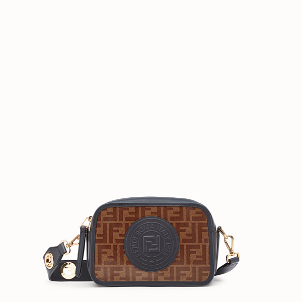 FENDI CAMERA CASE - Borsa in canvas multicolor - vista 1 thumbnail piccola