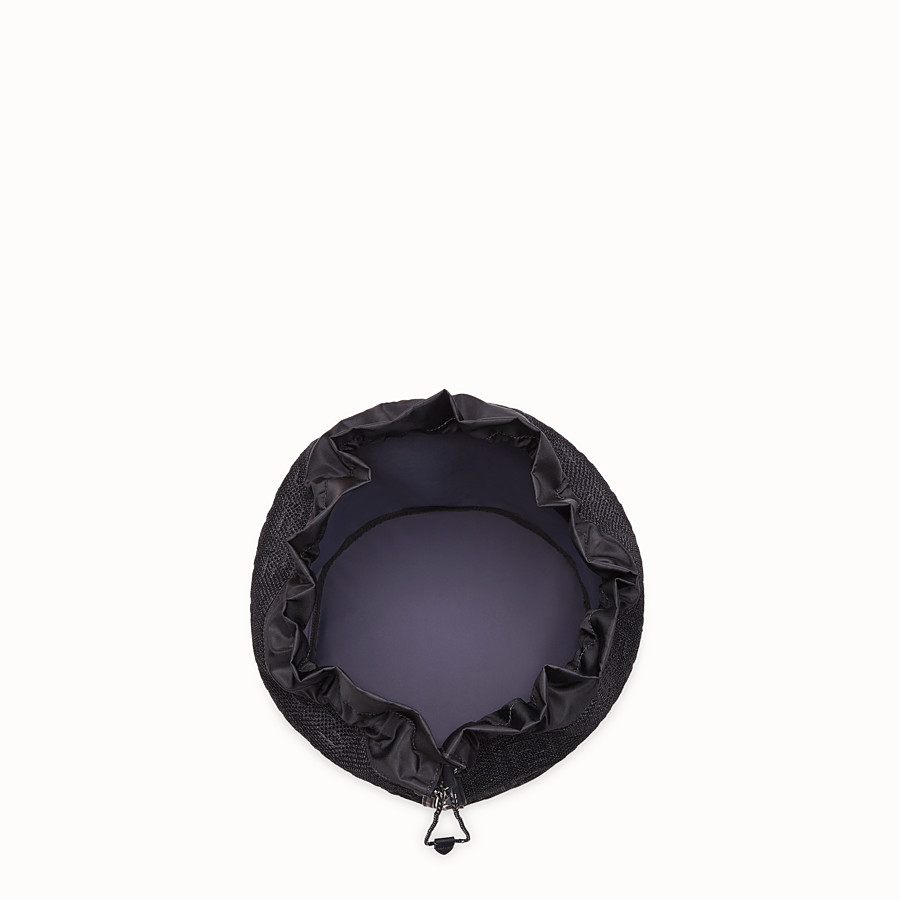 FENDI MON TRESOR - Мешок из сетчатой ткани черного цвета - view 4 detail