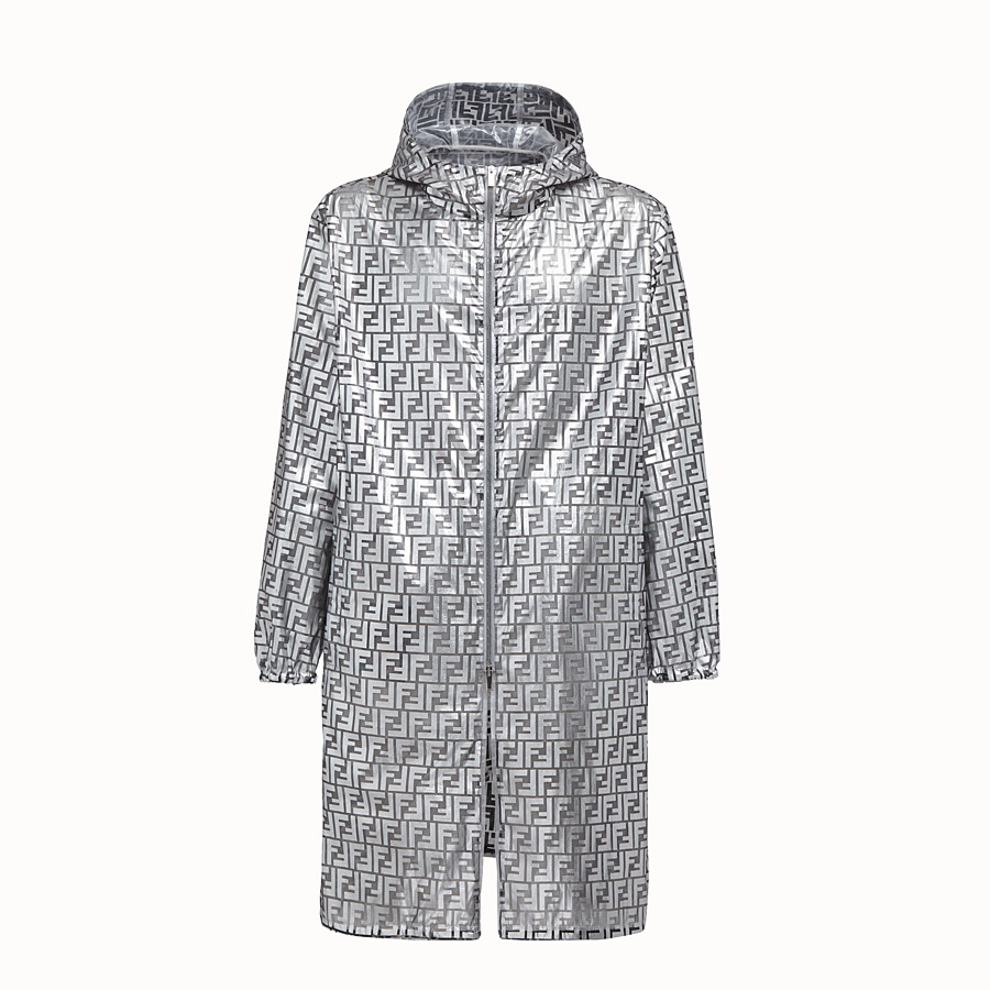 FENDI PARKA - Fendi Prints On nylon raincoat - view 1 detail