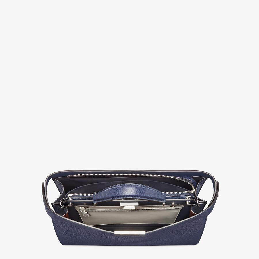 FENDI PEEKABOO ISEEU MEDIUM - Dark blue leather bag - view 5 detail