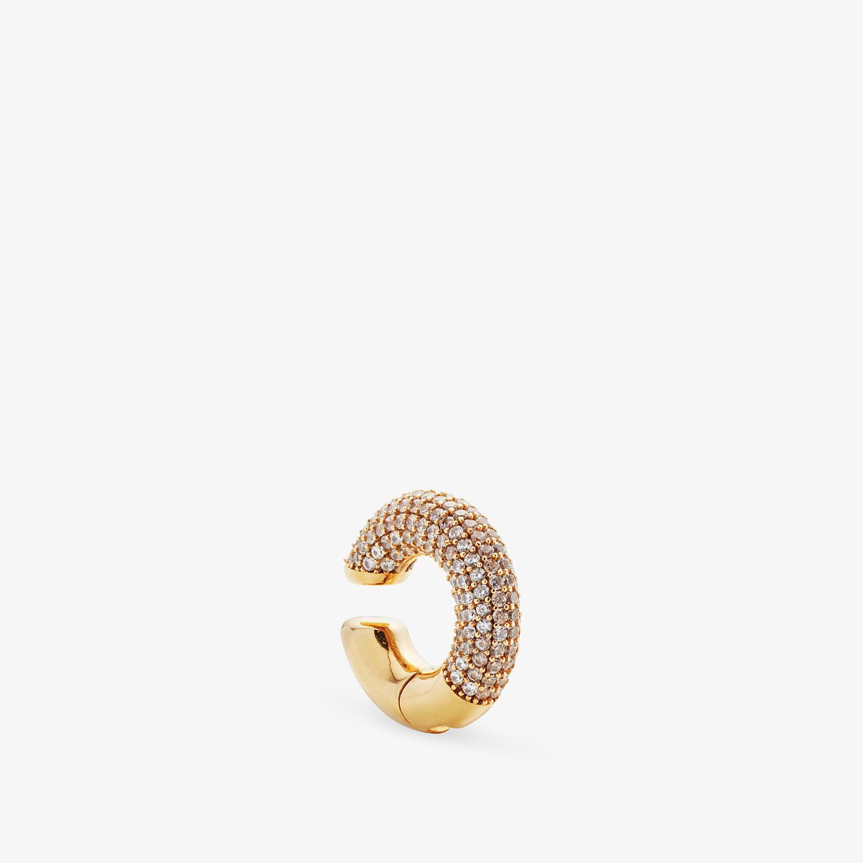 FENDI FENDIOOPS EARRING - Gold-color earring - view 1 detail