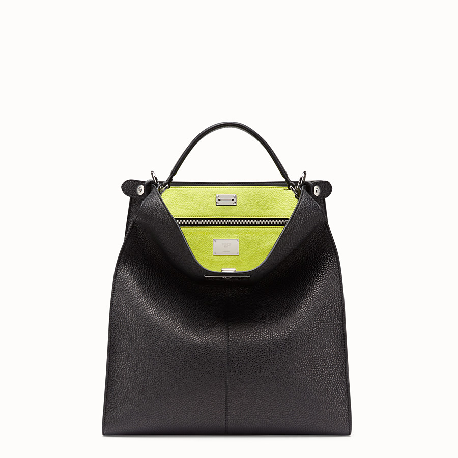 FENDI PEEKABOO X-LITE FIT - Fendi Roma Amor bag in Romano leather - view 2 detail