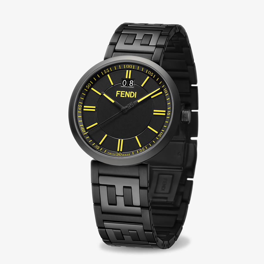 FENDI FOREVER FENDI - 39 MM - Watch with FF logo bracelet - view 2 detail
