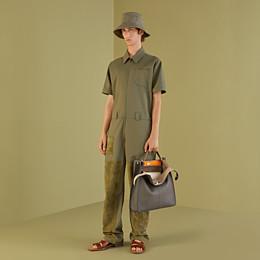 FENDI JUMPSUIT - Green cotton jumpsuit - view 4 thumbnail