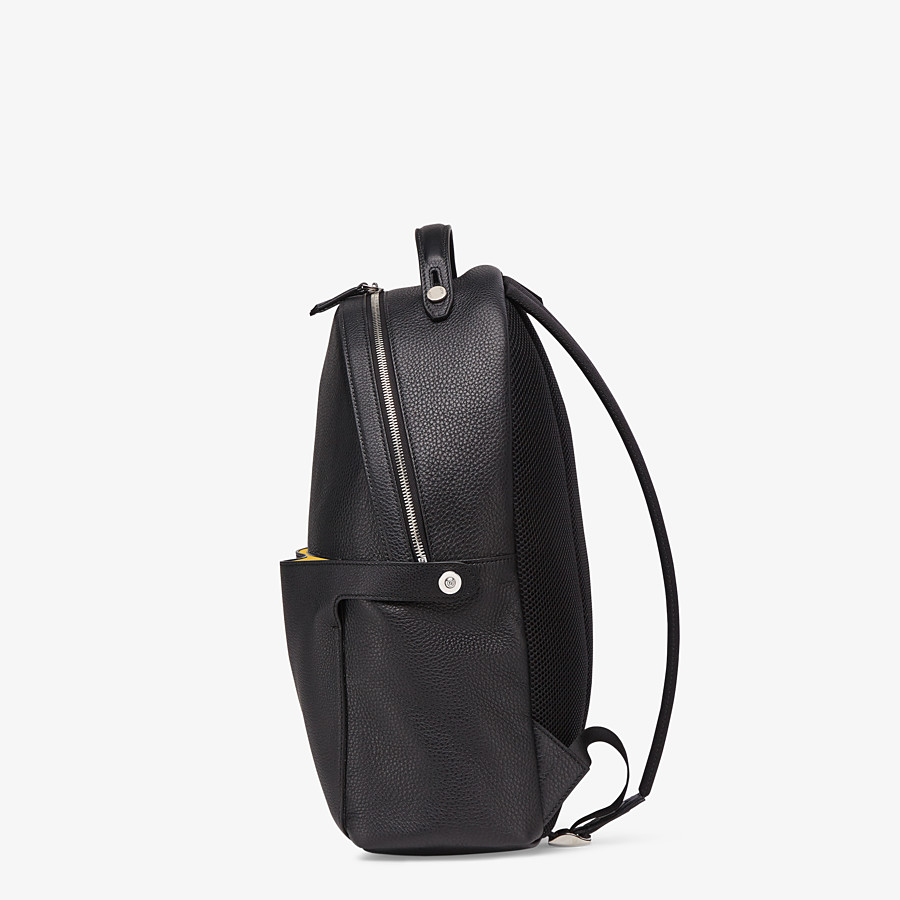 FENDI PEEKABOO BACKPACK - Black leather backpack - view 3 detail