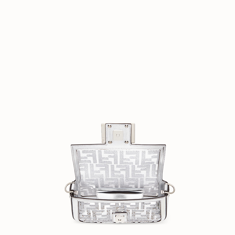 FENDI BAGUETTE MINI - Transparent PVC bag - view 4 detail