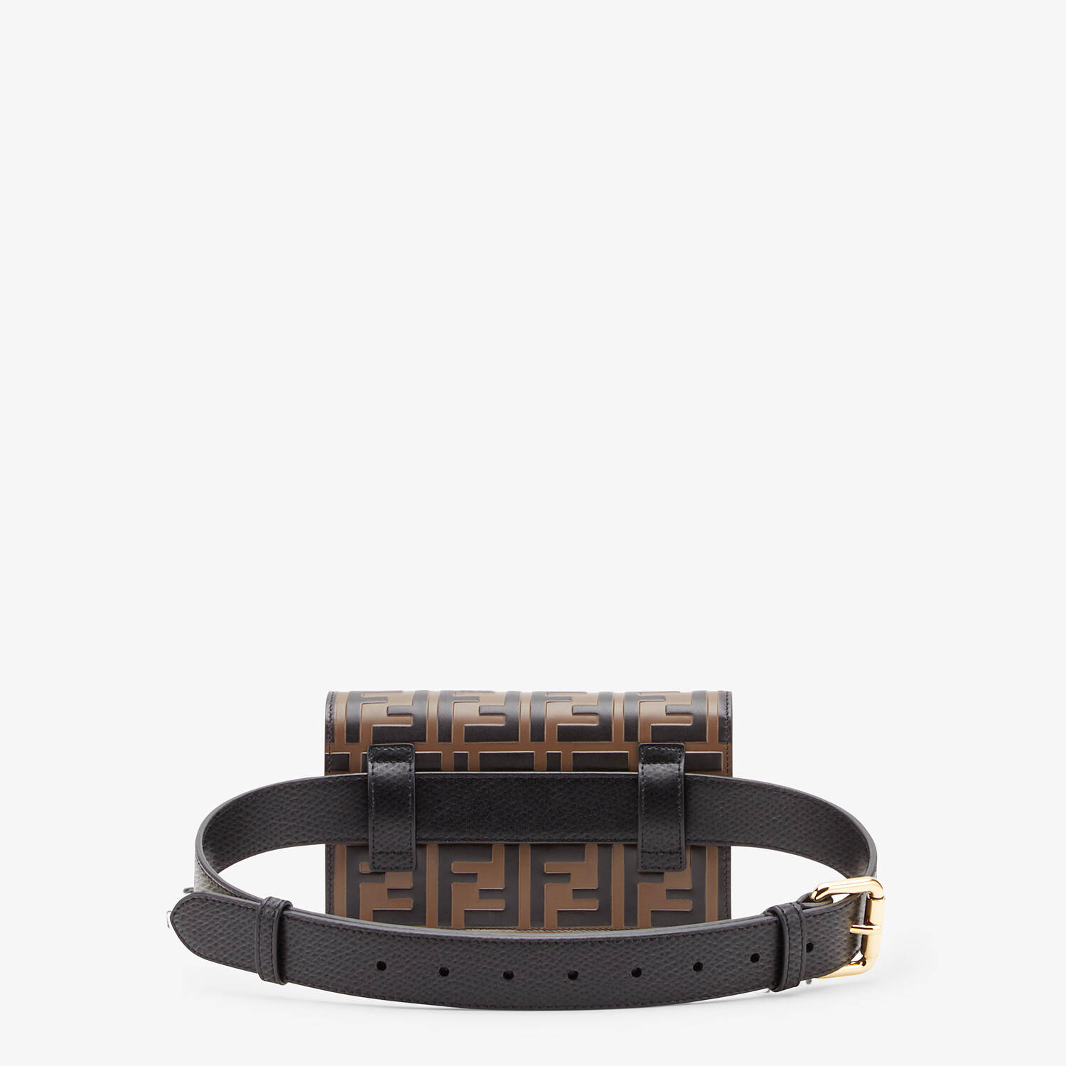 FENDI BELT BAG - Multicolor leather belt bag - view 3 detail