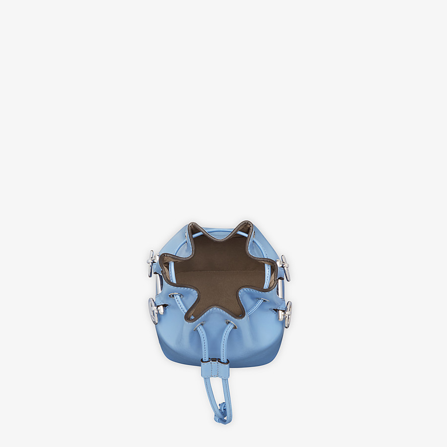 FENDI MON TRESOR - Pale blue leather minibag - view 4 detail