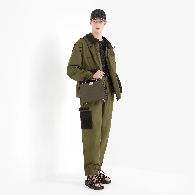 FENDI WINDBREAKER - Multicolor nylon jacket - view 7 detail