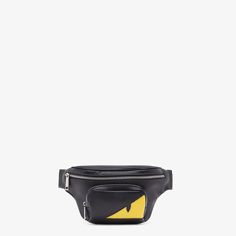 FENDI BELT BAG - Black calfskin belt bag - view 1 detail