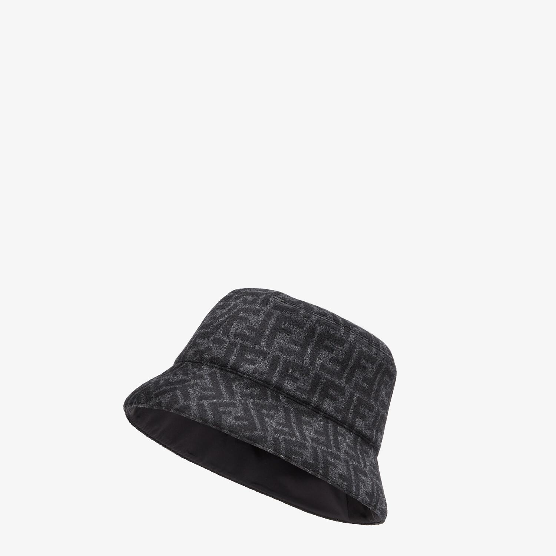 FENDI HAT - Gray wool bucket hat - view 1 detail