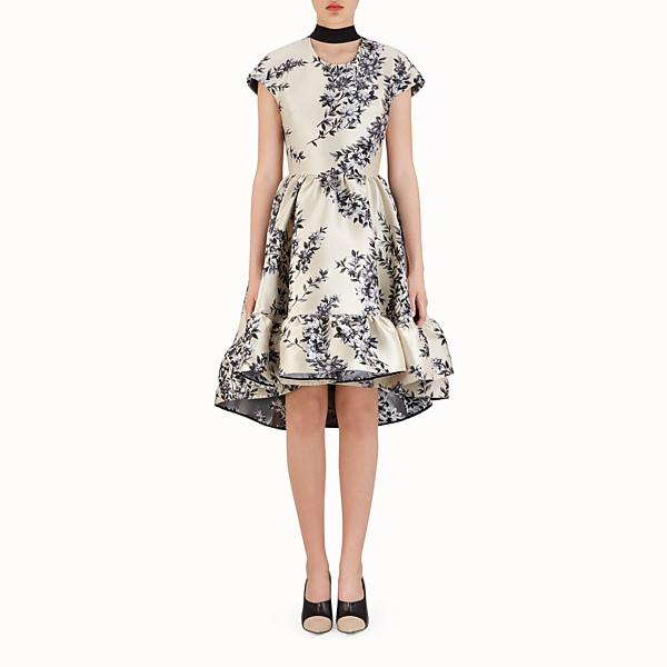 FENDI SHORT DRESS - Multicolour silk dress - view 1 small thumbnail