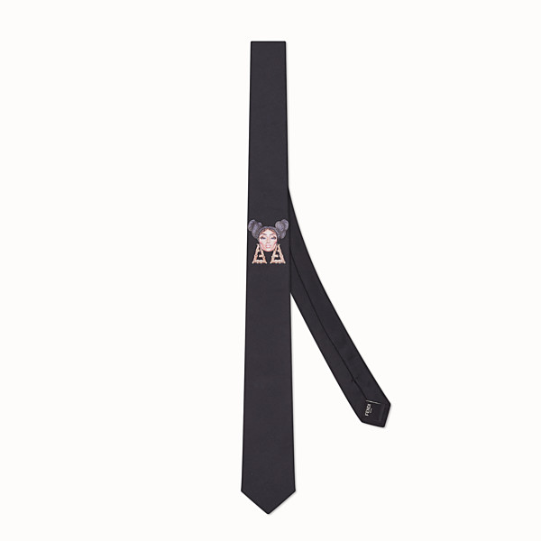 FENDI TIE - Fendi Prints On silk tie - view 1 small thumbnail