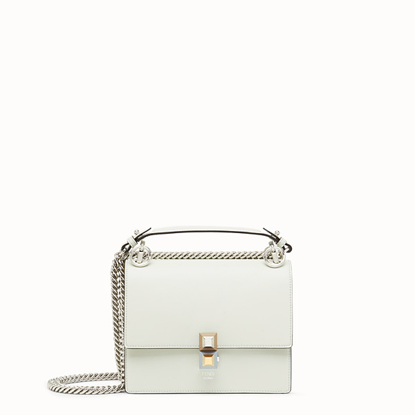 FENDI KAN I SMALL - Mini sac en cuir vert - view 1 small thumbnail