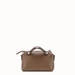 FENDI BY THE WAY MINI - Small brown leather Boston bag - view 3 thumbnail