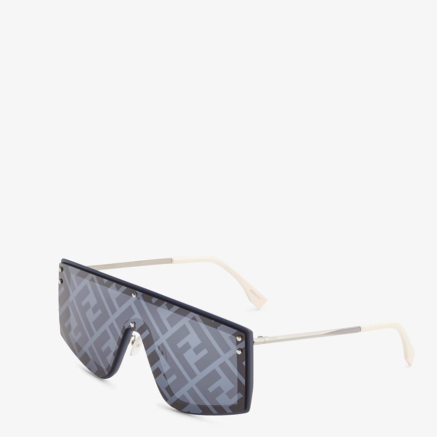 FENDI FENDI FABULOUS - Blue sunglasses - view 2 detail