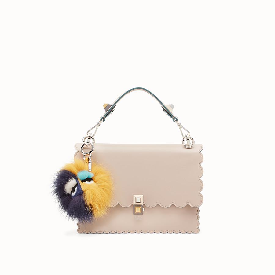 FENDI BLUEMINOUS BAG BUG - Multicolour fur charm - view 2 detail