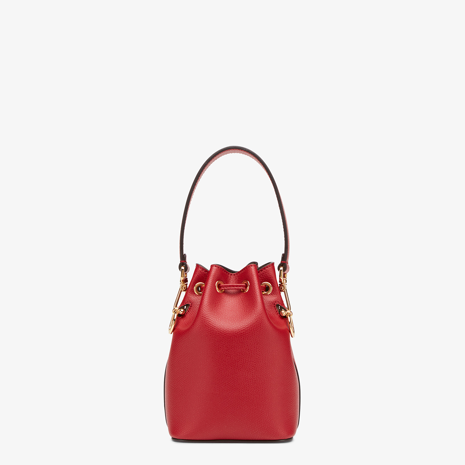 FENDI MON TRESOR - Red leather mini-bag - view 3 detail