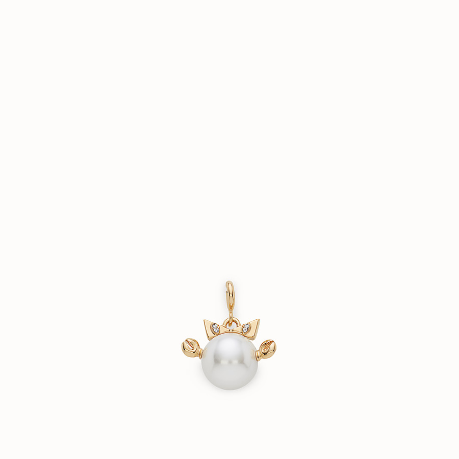FENDI CANCER PENDANT - Pendant with pearl - view 1 detail