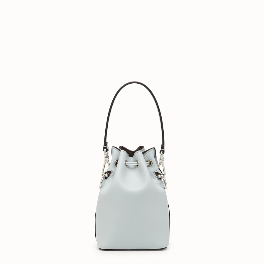 FENDI MON TRESOR - Grey leather minibag - view 3 detail