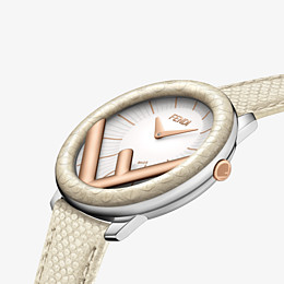 """FENDI RUN AWAY - 36 mm – Uhr mit """"F is Fendi""""-Logo - view 3 thumbnail"""