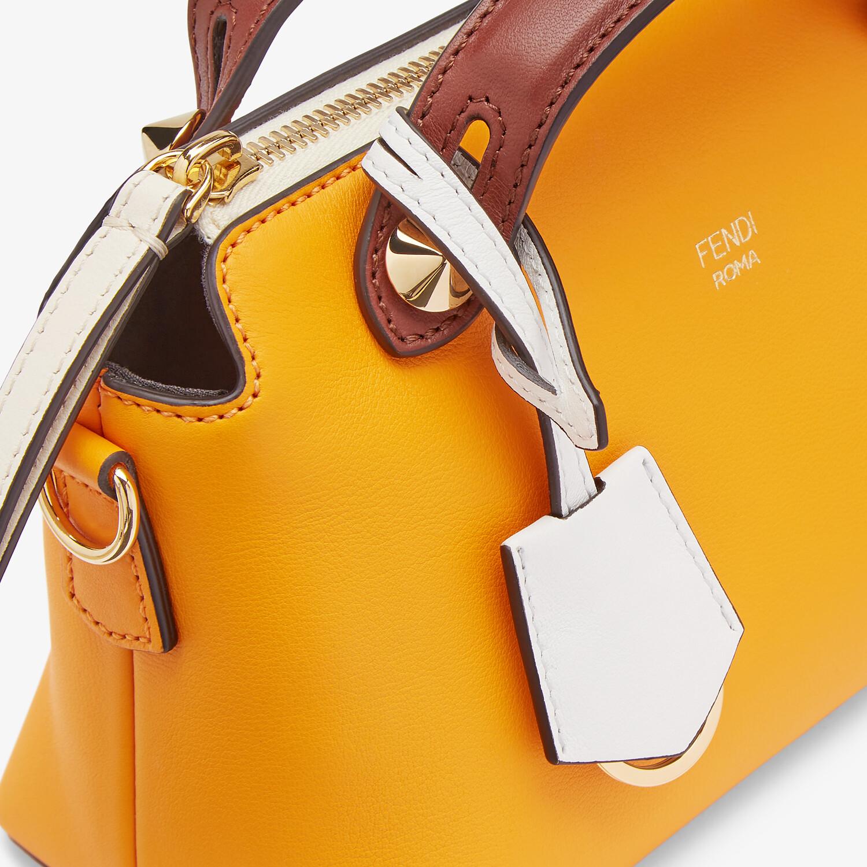 FENDI BY THE WAY MINI - Small multicolour leather Boston bag - view 5 detail