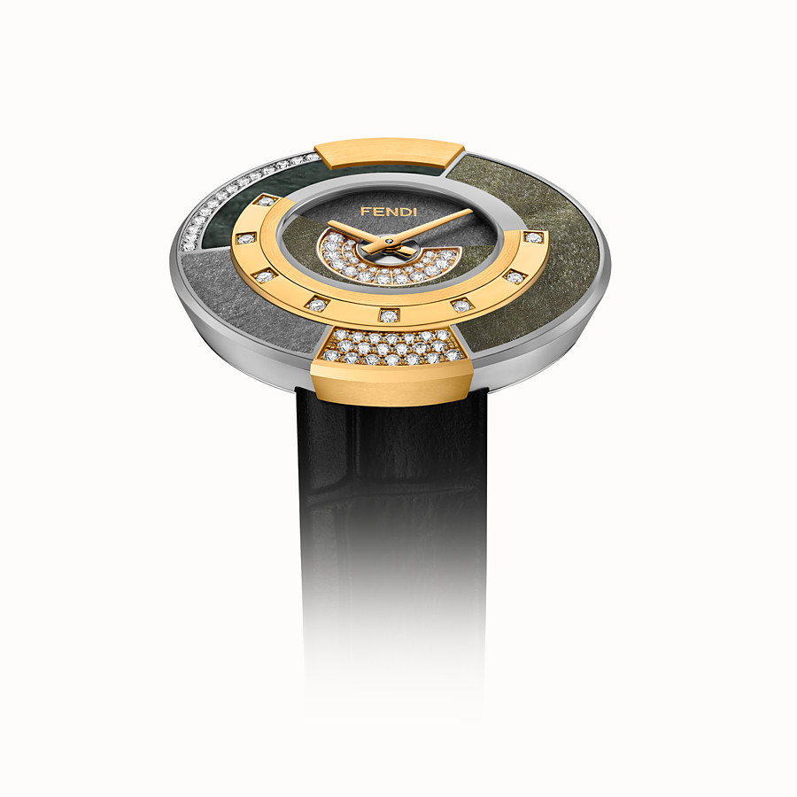 FENDI POLICROMIA - 38 mm - Watch with diamonds and genuine stones - view 3 detail