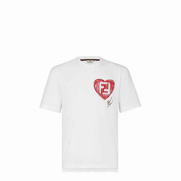 FENDI T-SHIRT - Karl Lagerfeld Limited Edition T-shirt  - view 1 small thumbnail