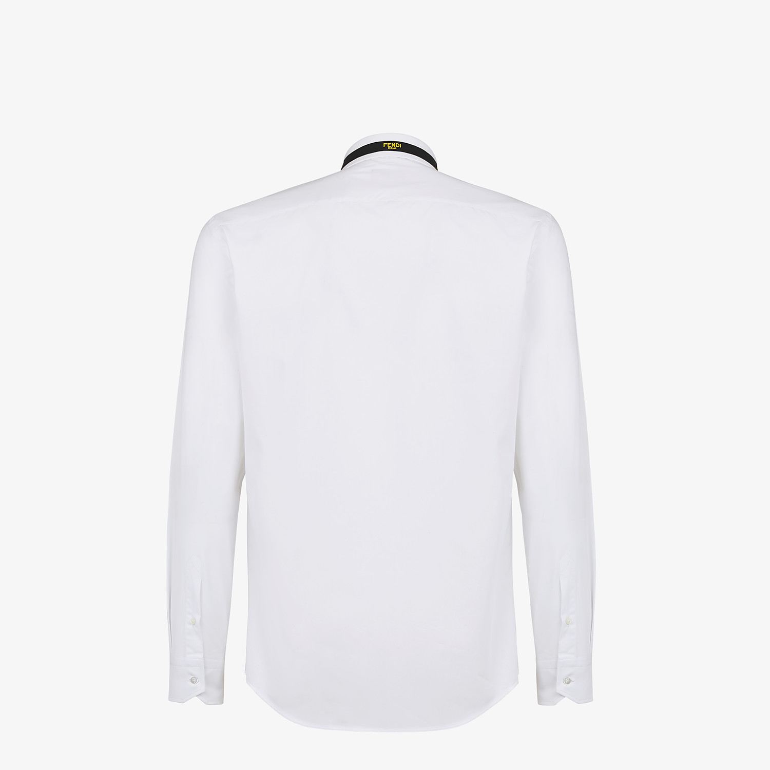 FENDI SHIRT - White cotton shirt - view 2 detail