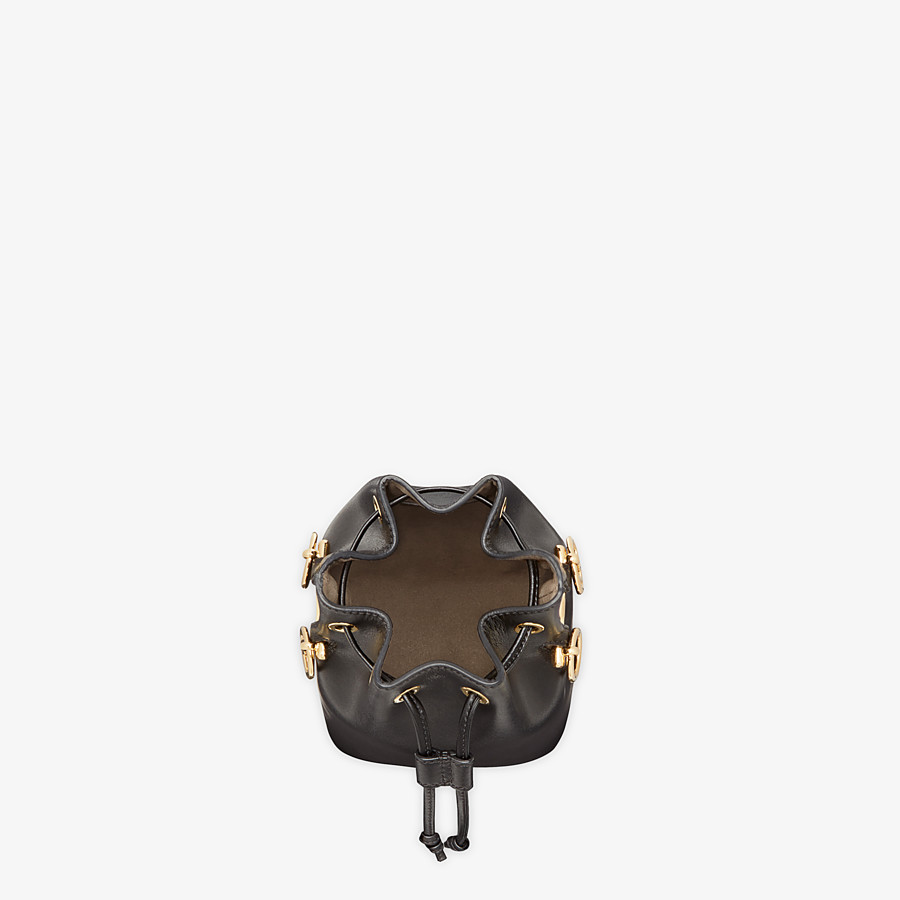 FENDI MON TRESOR - Black leather mini-bag - view 4 detail