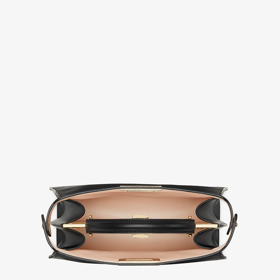 FENDI PEEKABOO ISEEU MEDIUM - Black leather bag - view 6 detail