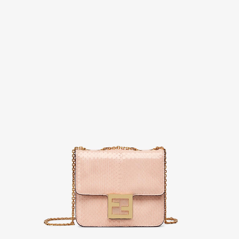 FENDI FENDI FAB - Pink elaphe bag - view 1 detail