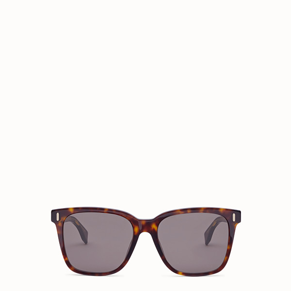 FENDI FENDI - Havana Asian Fit sunglasses - view 1 small thumbnail
