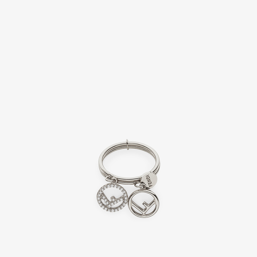FENDI F IS FENDI RING - Palladium-colored ring - view 2 detail