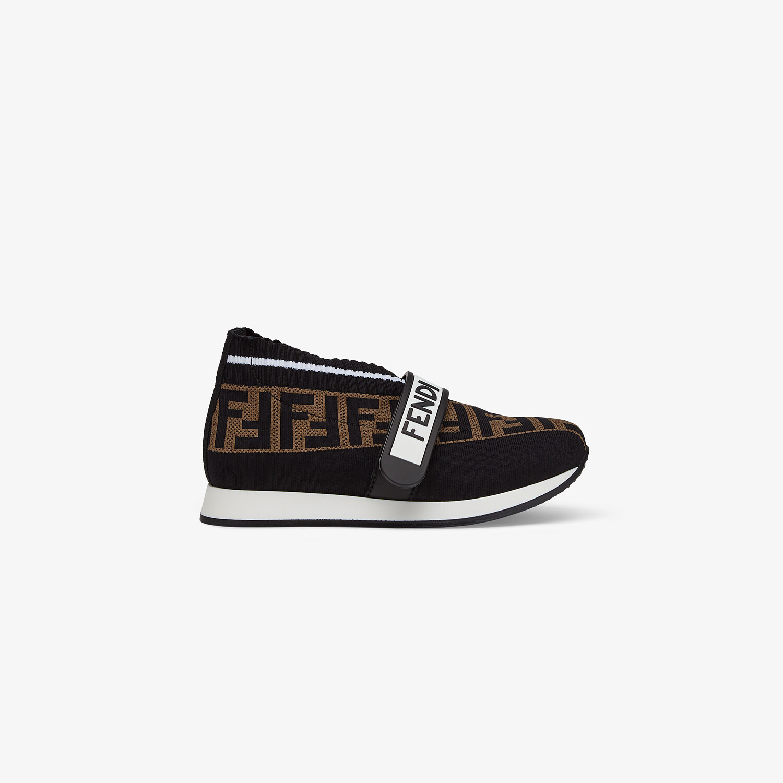 FENDI SNEAKERS - Fabric unisex junior sneakers - view 1 detail
