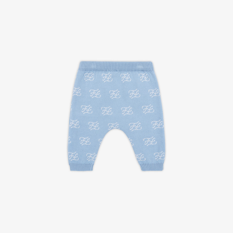 FENDI PANTALONE IN MAGLIA BABY - Pantalone baby in maglia - vista 2 dettaglio