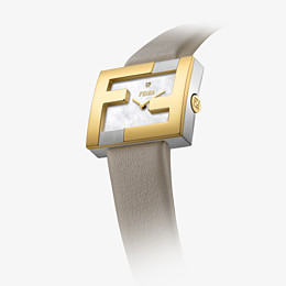 FENDI FENDIMANIA - 24 x 20 MM - Watch with FF logo bezel - view 3 thumbnail