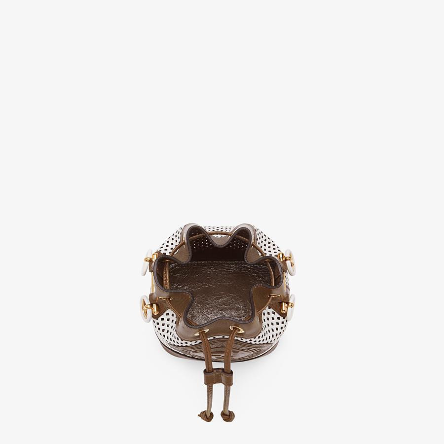 FENDI MON TRESOR - Minibag in pelle bianca - vista 5 dettaglio