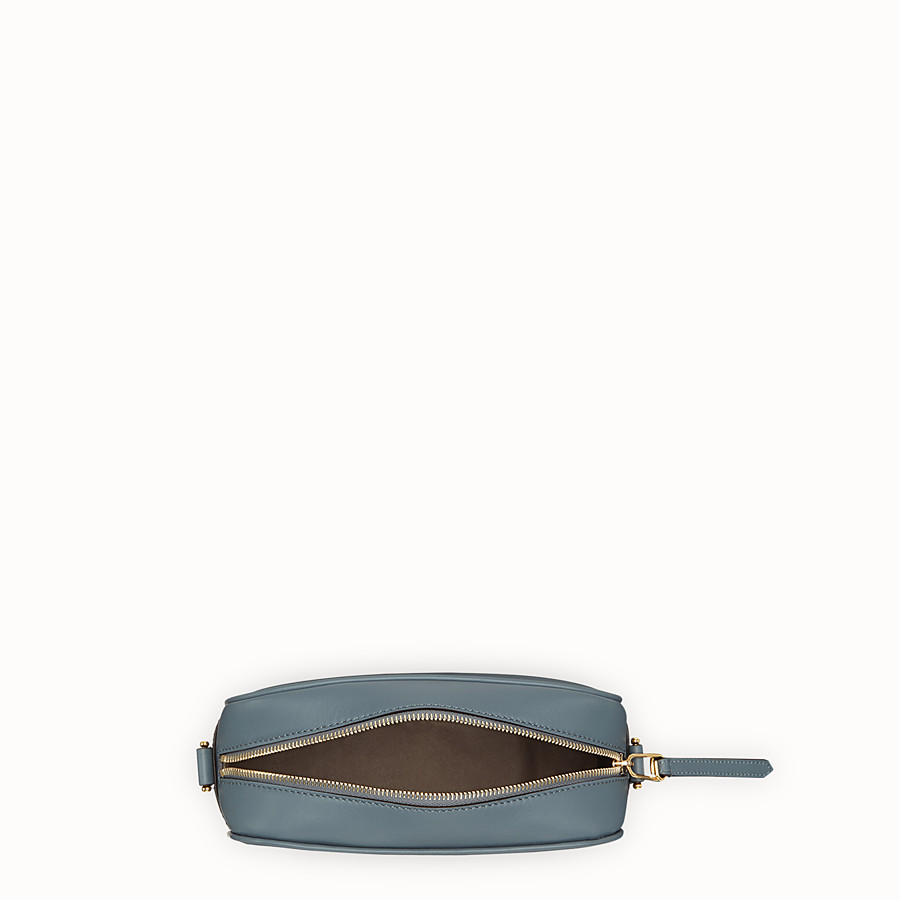 FENDI CAMERA CASE - Blue leather bag - view 4 detail