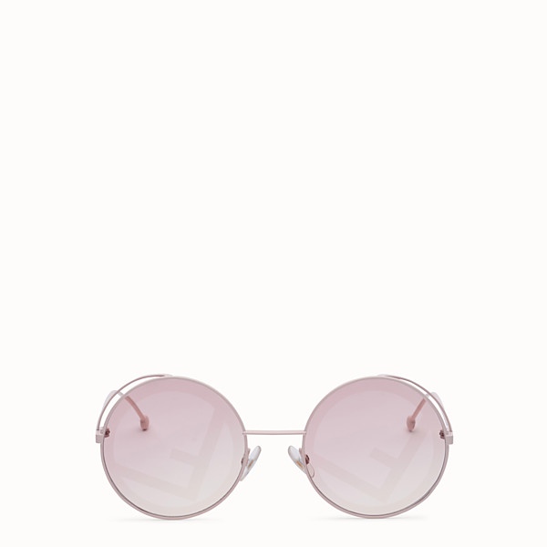 FENDI FENDIRAMA - Sonnenbrille in Rosa - view 1 small thumbnail