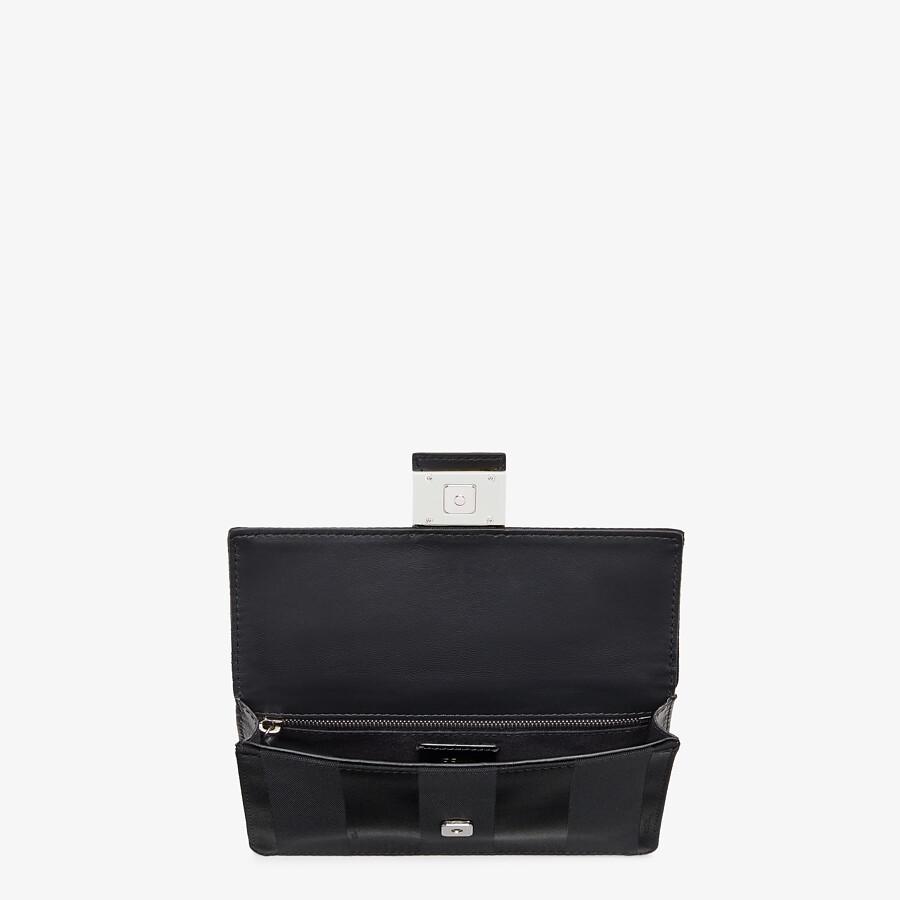 FENDI BAGUETTE POUCH - Black nylon bag - view 4 detail