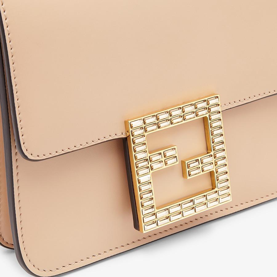 FENDI FENDI FAB - Tasche aus Leder in Rosa - view 6 detail