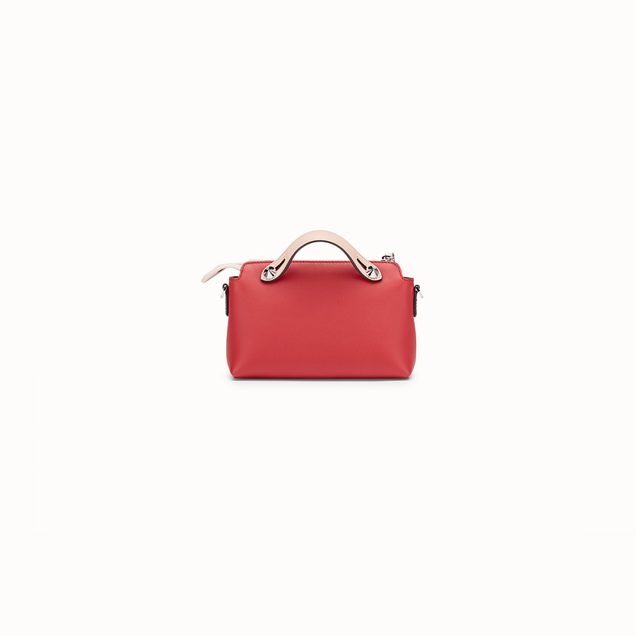 FENDI BABY BY THE WAY - Red leather mini By The Way - view 3 detail