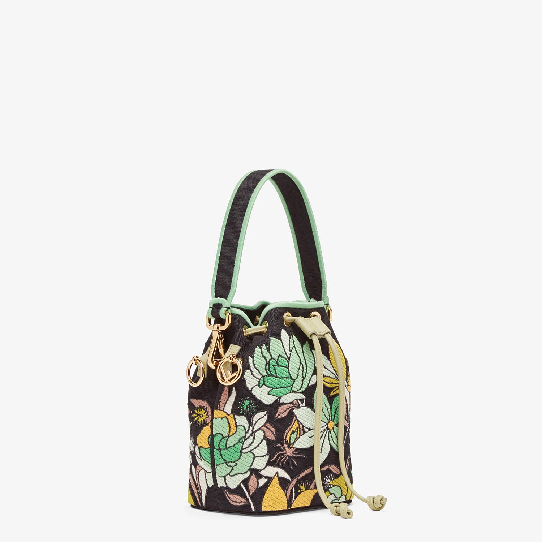 FENDI MON TRESOR - Black canvas mini bag - view 2 detail