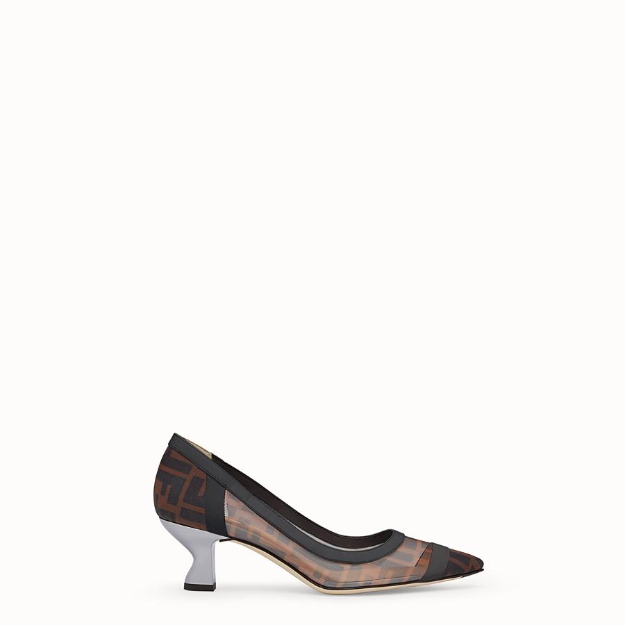 d6194fc128 Leather Heels and Pumps - Women's Designer Shoes   Fendi