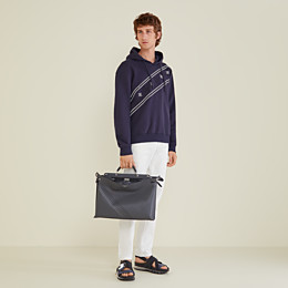 FENDI SWEATSHIRT - Sweatshirt aus Jersey in Blau - view 4 thumbnail