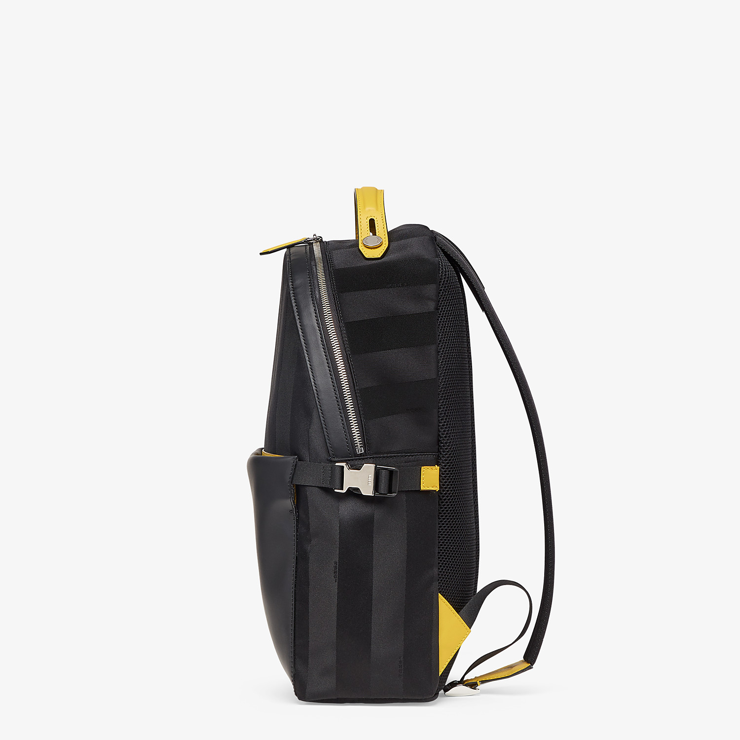 FENDI ESSENTIAL BACKPACK - Black nylon backpack - view 2 detail