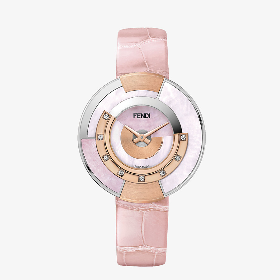 FENDI POLICROMIA - 33 mm - Watch with diamonds and natural stones - view 1 detail