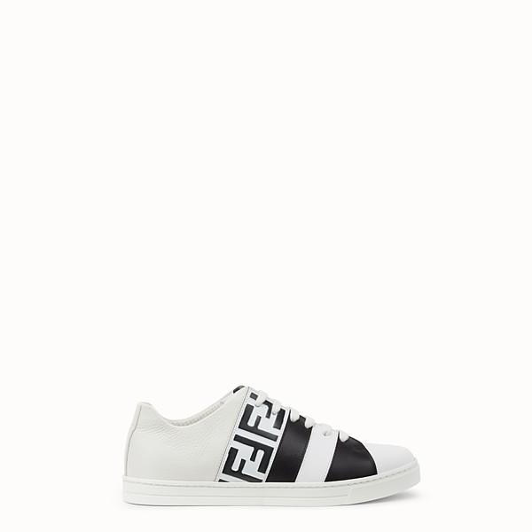 FENDI SNEAKER - Niedriger Sneaker aus Leder in Weiß - view 1 small thumbnail